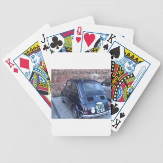 Italian Car with Bible Verse Poker Deck