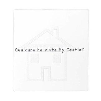 Italian-Castle Notepad