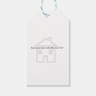 Italian-Castle Pack Of Gift Tags