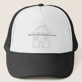 Italian-Castle Trucker Hat