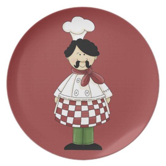 Italian Chef #2 Plate