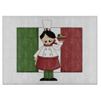 Italian Chef #3 Cutting Board