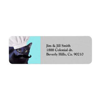 Italian Chef, Black Cat