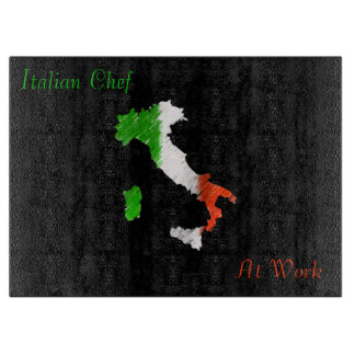 Italian Chef Cutting Board