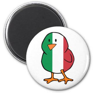 Italian Chick 2 Inch Round Magnet