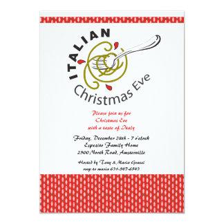 Italian Christmas Eve Dinner Invitation