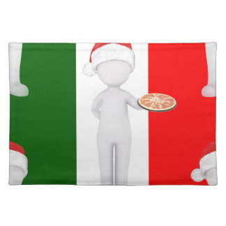 italian christmas placemat