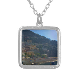 Italian Coast Silver Plated Necklace