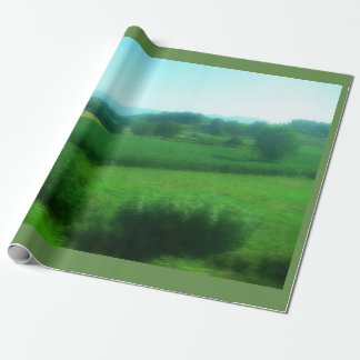 Italian Countryside Wrapping Paper