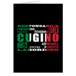 Italian Cousins : Qualities Card