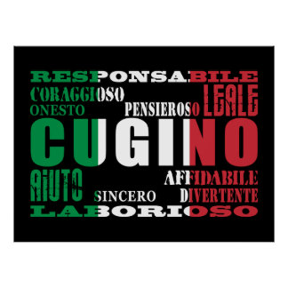 Italian Cousins : Qualities Print