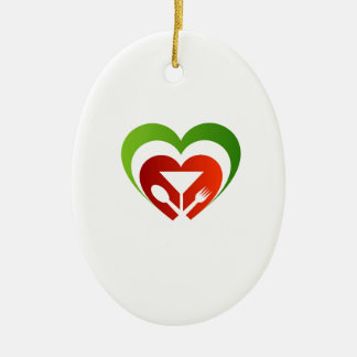 Italian cuisine ceramic ornament