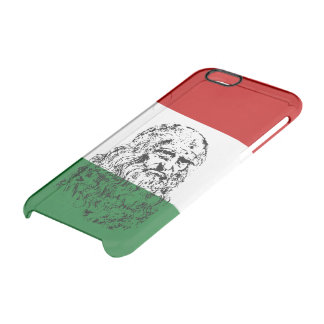 Italian da Vinci Clear iPhone 6/6S Case
