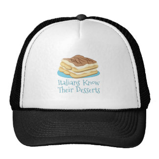 Italian Desserts Trucker Hat
