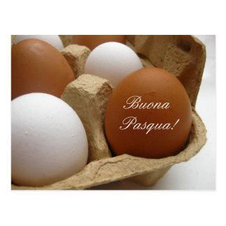 italian easter egg greeting postcards