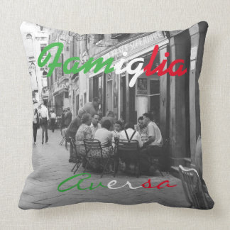Italian Family Pillow - Famiglia Accent Pillow