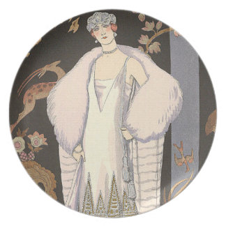 Italian Fashion George Barbier Plate