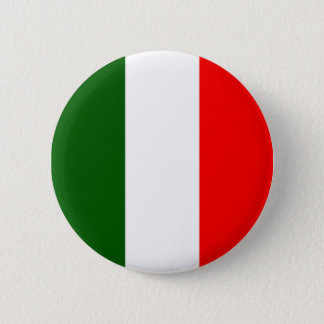 Italian Flag 2 Inch Round Button