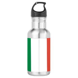 italian flag 532 ml water bottle