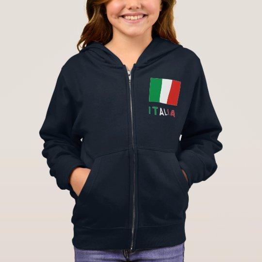 Italian Flag and Italia Hoodie
