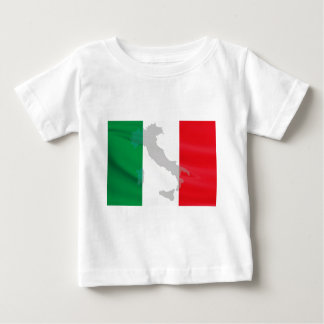 italian flag and Italy Baby T-Shirt