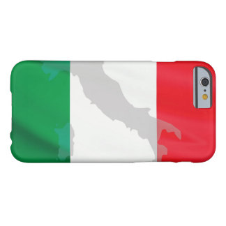 italian flag and Italy Barely There iPhone 6 Case