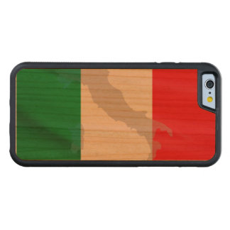 italian flag and Italy Cherry iPhone 6 Bumper Case