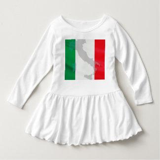 italian flag and Italy Dress