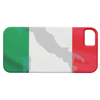 italian flag and Italy iPhone 5 Cases
