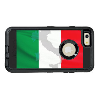 italian flag and Italy OtterBox iPhone 6/6s Plus Case