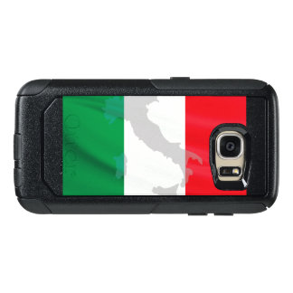 italian flag and Italy OtterBox Samsung Galaxy S7 Case