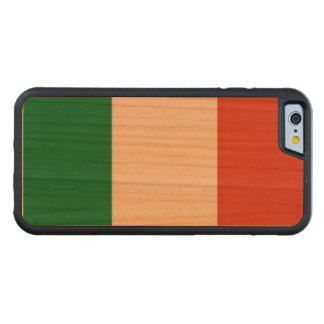 italian flag carved cherry iPhone 6 bumper case