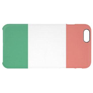 italian flag clear iPhone 6 plus case