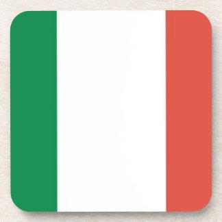 italian flag coasters