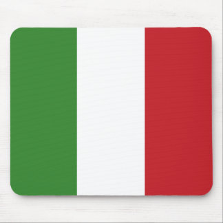 Italian Flag Colors Italy Green White Red Mouse Pad