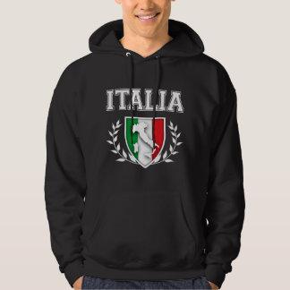 Italian Flag Crest Hoodie