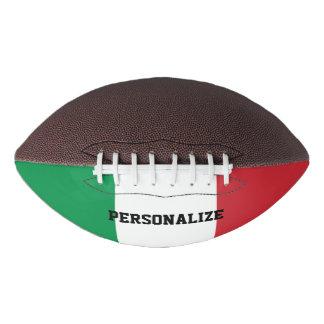 Italian flag custom football sports gift