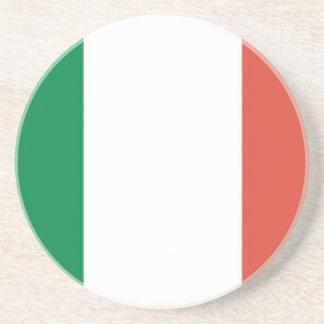 italian flag drink coasters