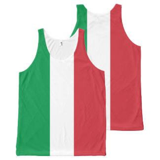 Italian Flag - Flag of Italy - Italia All-Over-Print Tank Top