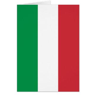 Italian Flag - Flag of Italy - Italia Card