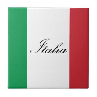 Italian Flag - Flag of Italy - Italia Tile