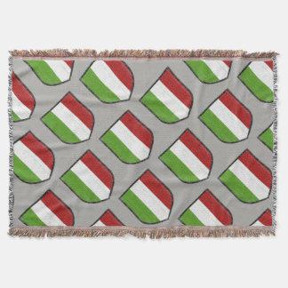 Italian Flag Fleece Blanket