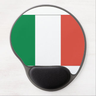 italian flag gel mouse pad