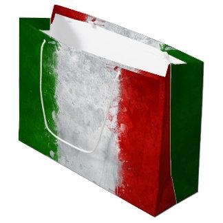 Italian Flag Gift Bag