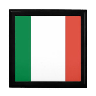 italian flag gift box