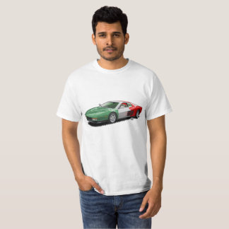 Italian Flag Italian Supercar t-Shirt