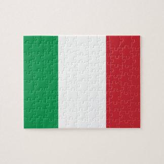 Italian Flag Jigsaw Puzzle