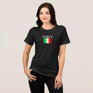 Italian Flag Ladies Custom Shirt