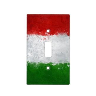 Italian Flag Light Switch Cover