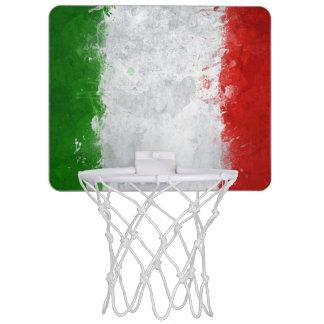 Italian Flag Mini Basketball Hoop Goal